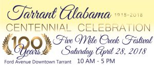 Tarrant Alabama Centennial & Five Mile Creek F...
