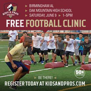 FREE Kids & Pros Football Clinic