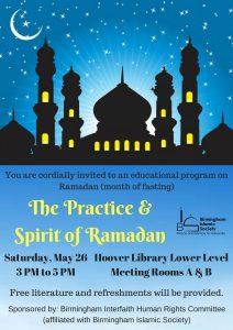 The Practice and Spirit of Ramadan