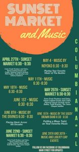 Music on Main Street and Sunset Market