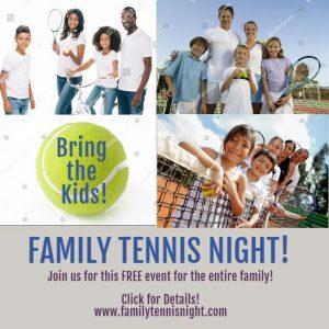 Family Tennis Night