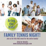 Family Tennis Night