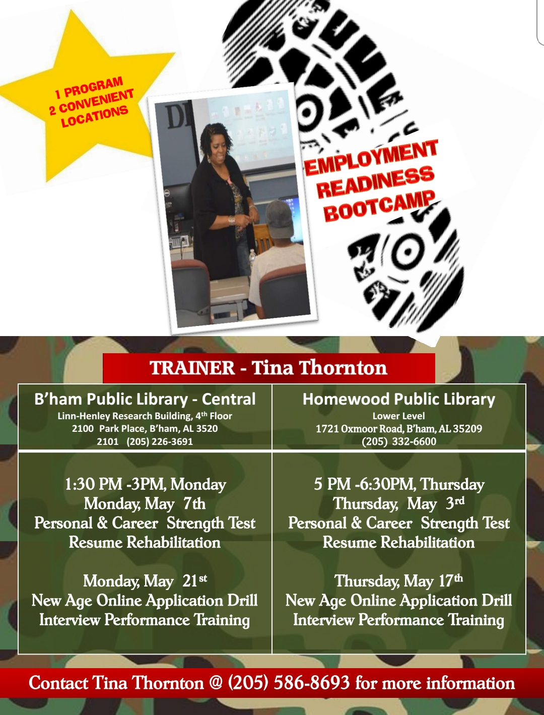 personal  u0026 career strength test  resume rehabilitation workshop presented by birmingham public