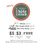Spire presents Throwback Thursday Kids Club