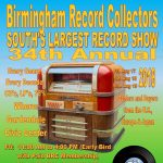 Birmingham Record Collectors 34th Annual Show