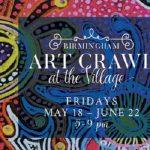Birmingham Art Crawl at the Village