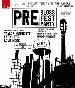 About Town's Pre-Sloss Fest Party