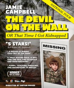 "Jamie Campbell in ""The Devil On The Wall or, That Time I Got Kidnapped"""