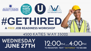 #GetHired: A Job Readiness Workshop