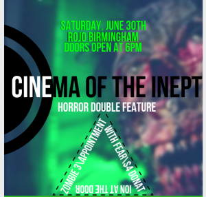 Cinema of the Inept Horror Double Feature
