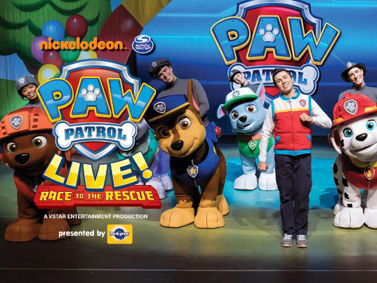 PAW Patrol Live! presented by VStar Entertainment Group ...