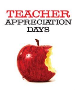 Teacher Appreciation Days