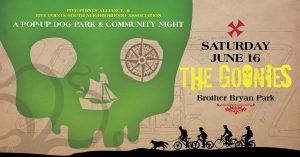 Pop-up Dog Park & Community Movie Night