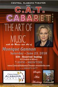 CAT Cabaret - The Art of MUSIC starring Monique Gannon