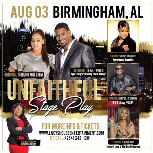 Unfaithful Stage Play - CANCELLED