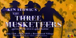 BCT Summer Shows: The Three Musketeers