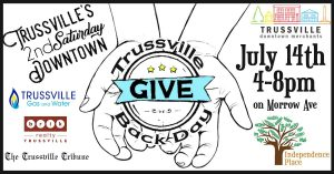 Trussville's 2nd Saturday Downtown Gives Back Day