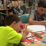 Zentangle Kids Camp ages 7-10