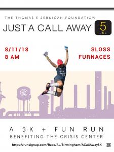 Just A Call Away 5K & Fun Run