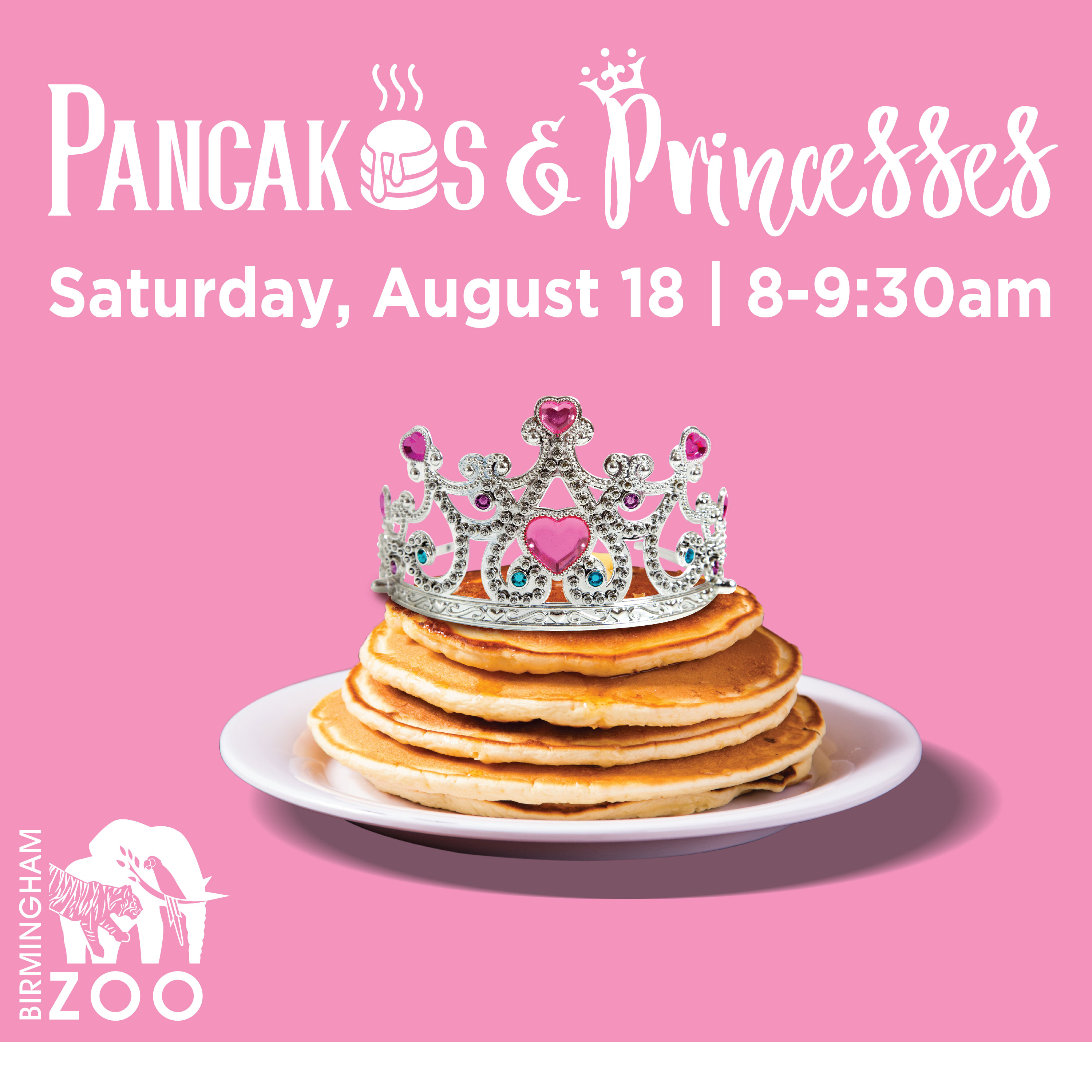 Pancakes And Princesses Presented By Birmingham Zoo Birmingham365