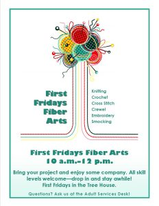 First Friday Fiber Arts