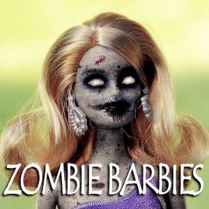 Teen Zombie Barbies