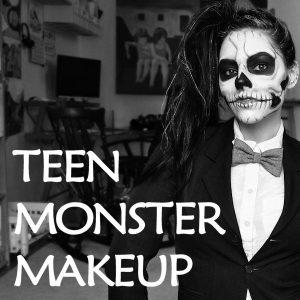 Teen Monster Makeup