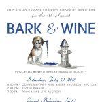 9th Annual Bark & Wine Gala
