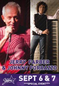 Jerry Farber and Johnny Porrazzo