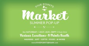 Five Points Market: A Summer POP-UP