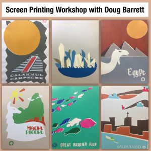 Simple Silkscreen Stencil Printing with Doug Barre...