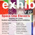2018 Summer Art Camp Student and Teaching Artist Exhibition