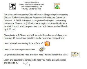 Basic Orienterring Class