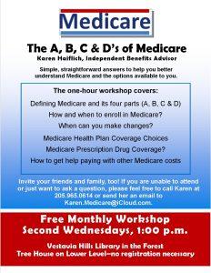ABCs of Medicare – 2nd Wednesdays