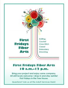 First Friday Fiber Arts