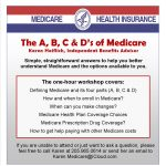 ABCs of Medicare – 2nd Wednesdays