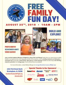 Southern Museum of Flight Family Fun Day
