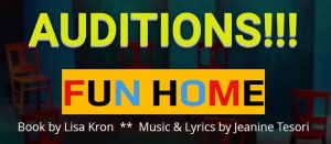 "AUDITIONS for ""Fun Home"" at Terrific New Theatre"