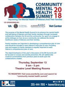 Community Mental Helath Summit 2018