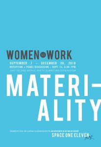 Women with their Work III: Materiality exhibition opening reception and artist panel discussion