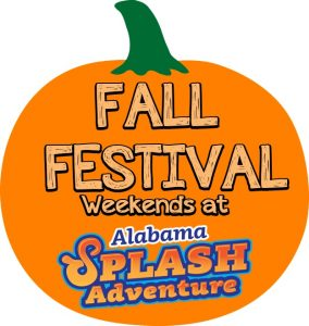 Alabama Splash Adventure Fall Festival