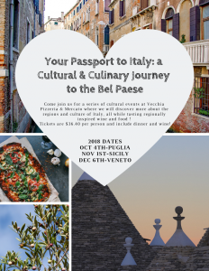 Your Passport to Italy: a Cultural and Culinary Journey to the Bel Paese