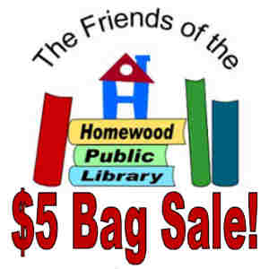 Friends of the Homewood Public Library $5 Bag Sale