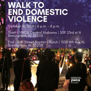 YWCA Domestic Violence Awareness Walk & Vigil