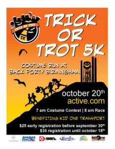 Trick or Trot 5K