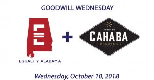 Goodwill Wednesday benefiting Equality Alabama