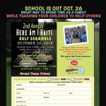 2nd Annual Here Am I Haiti Golf Scramble