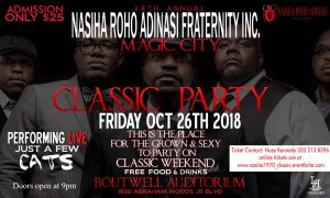 Brothers of Nasiha: 48th Annual Magic City Classic Party