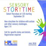 Sensory Story Time - Hoover Library