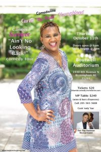 "Survived Cancer: ""Ain't No Looking Back"" Comedy Tour"
